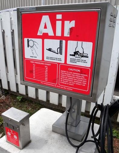 air pressure machine for tires